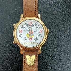 Lorus Mickey Mouse musical watch (Vintage)